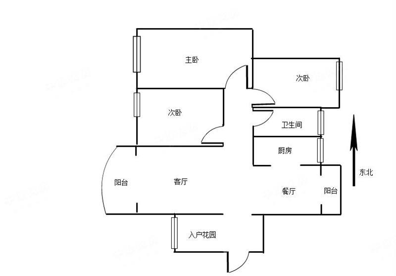 绿海名居,精装的三房,南北通透户型,专为你打造